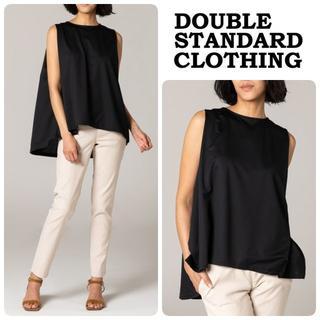 ダブルスタンダードクロージング(DOUBLE STANDARD CLOTHING)の20AW新品 ダブルスタンダード 前後差ノースリ 定価13200(Tシャツ(半袖/袖なし))