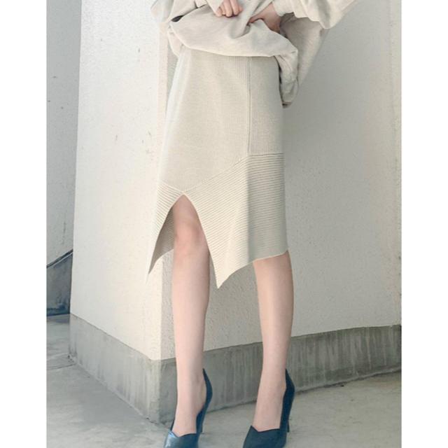 GYDA(ジェイダ)のGYDA ニットスカート レディースのスカート(ひざ丈スカート)の商品写真