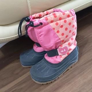 ミキハウス(mikihouse)のミキハウス スノーブーツ レインブーツ 19.0(長靴/レインシューズ)