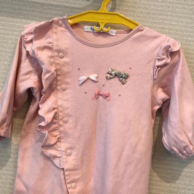 familiar(ファミリア)のファミリア✴︎ロンパース 70 キッズ/ベビー/マタニティのベビー服(~85cm)(ロンパース)の商品写真