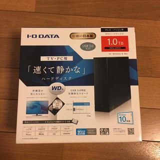 アイオーデータ(IODATA)の☆訳あり☆ 外付けハードディスク 1.0TB (PC周辺機器)