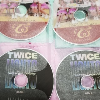 Waste(twice) - TWICEのTokyodome2セット★LIGHTSの2セットの4枚組高画質