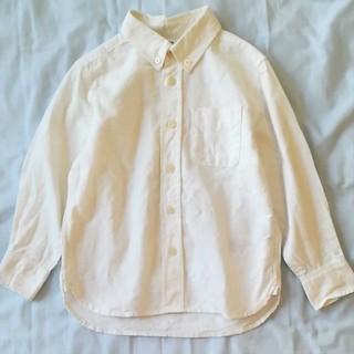 ムジルシリョウヒン(MUJI (無印良品))の無印良品白シャツ(ブラウス)