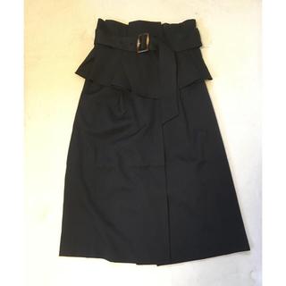 ミーア(MIIA)のMIIA(ミーア) コルセットベルト付きタイトスカート(ひざ丈スカート)