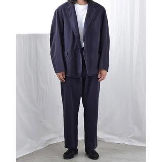 COMOLI - comoli 製品染 セットアップ ジャケット パンツ navy サイズ1 新品