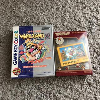 ゲームボーイアドバンス(ゲームボーイアドバンス)のゲームボーイ スーパーマリオブラザーズ&ワリオランド2(携帯用ゲームソフト)