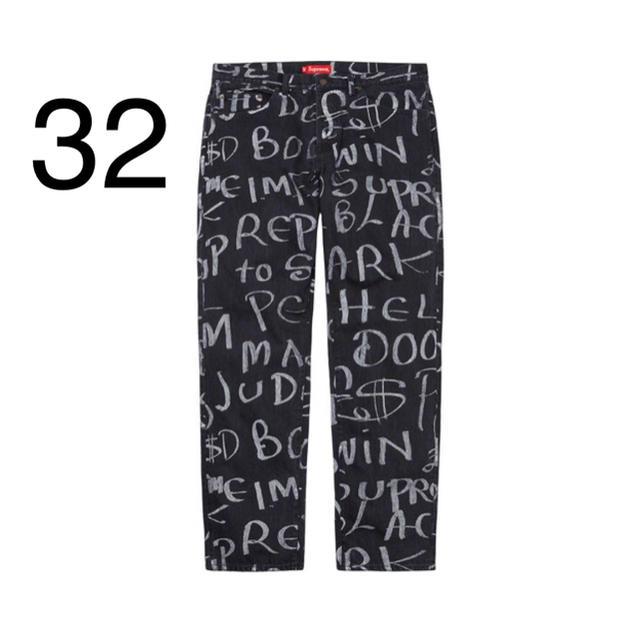 Supreme(シュプリーム)のSupreme Black Ark Regular Jean 32 メンズのパンツ(デニム/ジーンズ)の商品写真