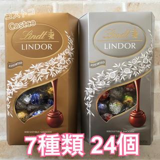 コストコ(コストコ)の☆*°特別価格☆*°リンツリンドール チョコレート7種類 合計24個セット(菓子/デザート)