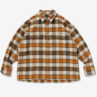 W)taps - DESCENDANT VANING CHECK LS SHIRT 20AW