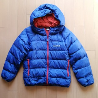 モンベル(mont bell)のモンベル 120 キッズ 子供 アウター 軽量 ダウン ジャケット冬 コート (ジャケット/上着)