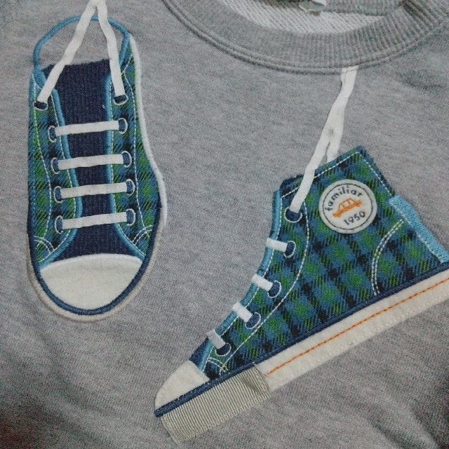 familiar(ファミリア)のfamiliar トレーナー キッズ/ベビー/マタニティのキッズ服男の子用(90cm~)(Tシャツ/カットソー)の商品写真
