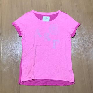 アバクロンビーアンドフィッチ(Abercrombie&Fitch)のアバクロ L ピンク Tシャツ(Tシャツ(半袖/袖なし))