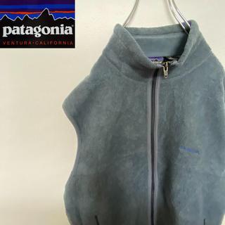 patagonia - Patagonia パタゴニア 海外規格 フリースベスト レアカラーミドリ 冬
