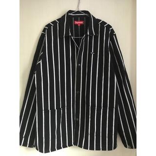 Supreme - supreme stripe shop jacket