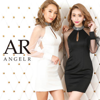 AngelR - [ドット柄 タイトミニドレス]AngelR(エンジェルアール)|AR20815