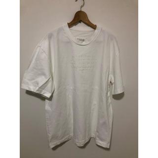 Maison Martin Margiela - ■46■20ss マルジェラ■点字ロゴ Tシャツ