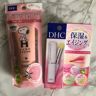 DHC - スヌーピー DHC ハンドクリーム&リップクリーム