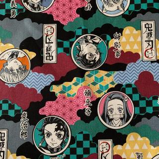 バンダイ(BANDAI)の鬼滅の刃生地 110×50(生地/糸)