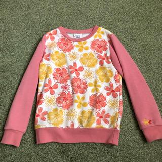 ブリーズ(BREEZE)のブリーズ 花柄トレーナー 120(Tシャツ/カットソー)