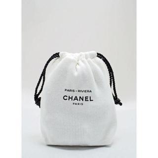 CHANEL - chrvr 新品未使用本物 シャネル ノベルティ巾着ポーチ