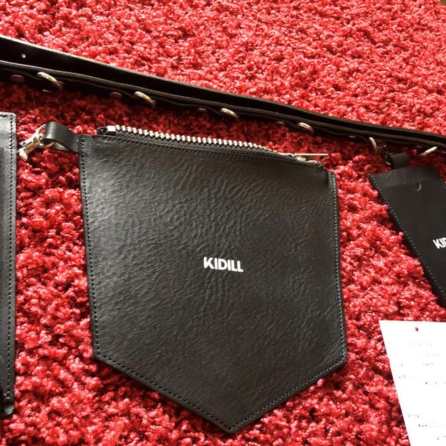 Jil Sander(ジルサンダー)のKIDILL ショルダー レザーバッグ ボディーバッグ メンズのバッグ(ショルダーバッグ)の商品写真