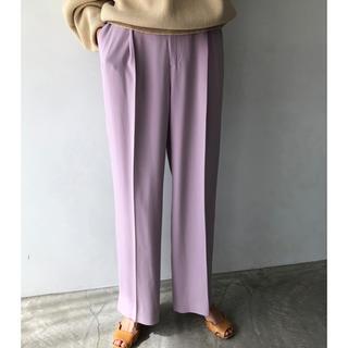 トゥデイフル(TODAYFUL)のTODAYFUL Georgette Rough Trousers(カジュアルパンツ)