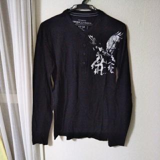 アメリカンイーグル(American Eagle)のアメリカンイーグル長袖Tシャツ 美品(Tシャツ/カットソー(七分/長袖))