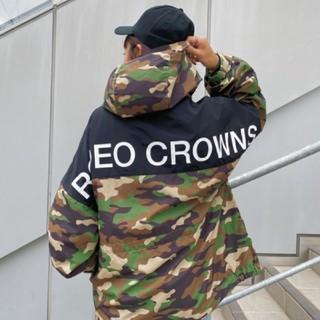 ロデオクラウンズワイドボウル(RODEO CROWNS WIDE BOWL)の新品 迷彩(男女兼用)早い者勝ちノーコメント即決しましょう❗️買っちゃおう♪(ナイロンジャケット)