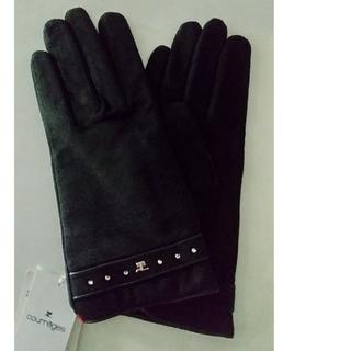 クレージュ(Courreges)の新品courregesスエード手袋(手袋)