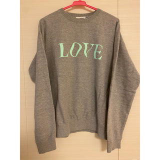 ビームス(BEAMS)のpurple things love&hate sweat shirts(スウェット)
