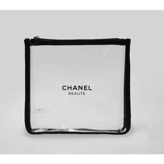 CHANEL - 102 新品未使用本物 シャネル CHANEL ノベルティクリアポーチ