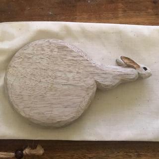 ミナペルホネン(mina perhonen)の新品未使用 kiyata ウサギ手鏡(ミラー)