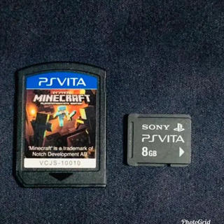 プレイステーションヴィータ(PlayStation Vita)のvita メモリーカード  マイクラ 2(その他)