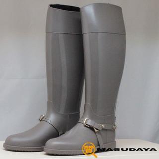 ジミーチュウ(JIMMY CHOO)のジミーチュウレインブーツ【未使用保管品】(レインブーツ/長靴)