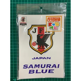 サッカー日本代表 布製ステッカー エンブレム サムライブルー(記念品/関連グッズ)