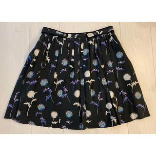 ケンゾー(KENZO)のKENZO ケンゾー 花柄スカート(ひざ丈スカート)