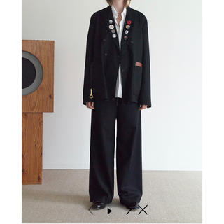 SUNSEA - SUNSEA 20AW Thickened Wide Pants