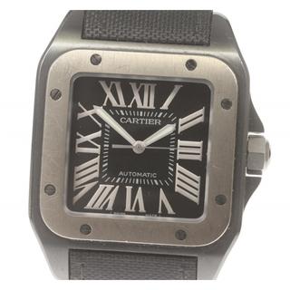 カルティエ(Cartier)のカルティエ  サントス100LM  W2020010 メンズ 【中古】(腕時計(アナログ))