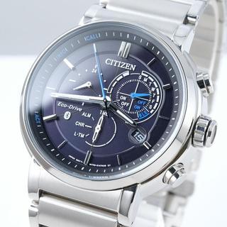 シチズン(CITIZEN)の【スマホ連携】シチズン プロキシミティ ソーラー 腕時計 海外モデル メンズ(腕時計(アナログ))