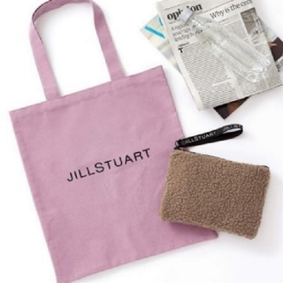 JILLSTUART - オトナミューズ付録ジルスチュアート ボアポーチ&ロゴトート