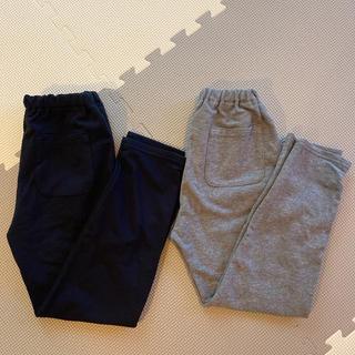 MUJI (無印良品) - ☆無印良品 120cm 長ズボン 2枚☆