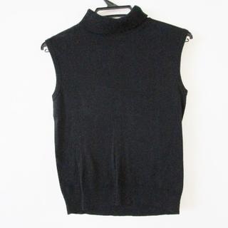 アニエスベー(agnes b.)のアニエスベー ノースリーブセーター 1 S 黒(ニット/セーター)