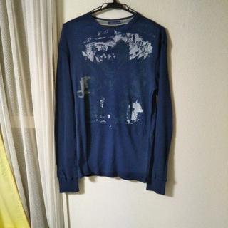 アメリカンイーグル(American Eagle)のアメリカンイーグル長袖Tシャツ ネイビー(Tシャツ/カットソー(七分/長袖))