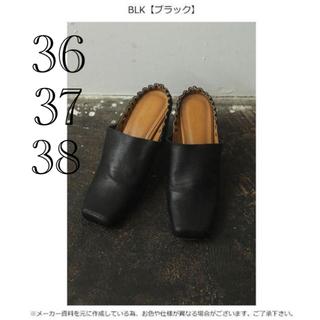 トゥデイフル(TODAYFUL)のTODAYFUL Square Gather Shoes 公式完売 新品未使用(ハイヒール/パンプス)