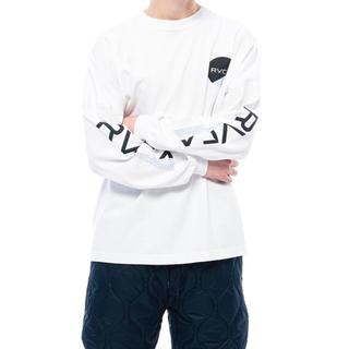 ルーカ(RVCA)のRVCA Mサイズ 秋冬モデル ルーカ  ルカ ロンT 長袖 Tシャツ パーカー(Tシャツ/カットソー(七分/長袖))