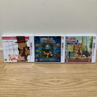 任天堂 - ニンテンドーDS/3DS レイトン教授シリーズ 7本