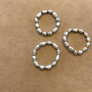 ドゥーズィエムクラス(DEUXIEME CLASSE)のperl ring set(リング)