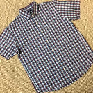 ザノースフェイス(THE NORTH FACE)の(Mサイズ)■ノースフェイス■半袖チェックシャツ(シャツ)