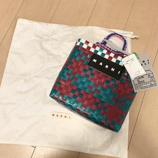 Marni - マルニ ジャージハンドル ピクニックバッグ