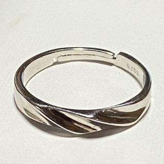 シルバー S925 シンプルなデザインのリング(リング(指輪))